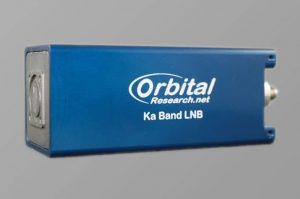 Orbital 694XA Series Ka-Band External Reference LNB with Rear Anchor Posts
