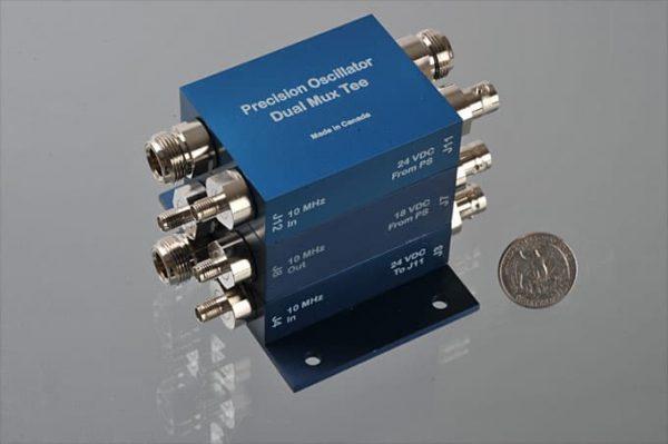PODM Precision 10 MHz Oscillator – Dual Mux/Tees