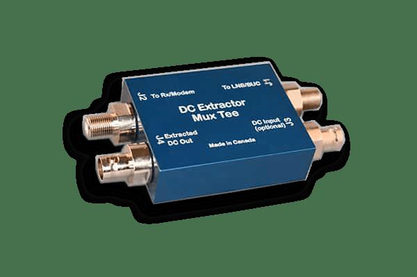 Satcom Orbital Power Extractor Thru Tee DET